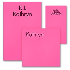 Ready, Set Go - Note Pad Gift Set - 100 Sheet - Pink