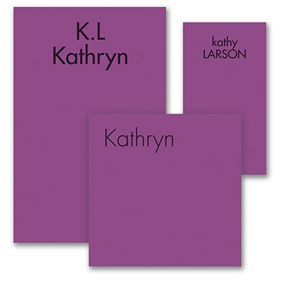 Ready, Set Go - Note Pad Gift Set - 100 Sheet - Purple