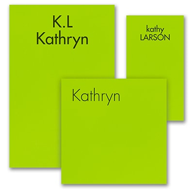 Ready, Set Go - Note Pad Gift Set - 100 Sheet - Green