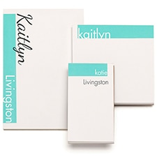 Flirty & Modern - Note Pad Gift Set - 100 Sheet