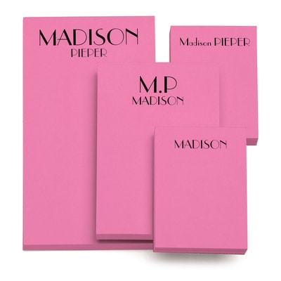 Color Pick - Notepad - Pink