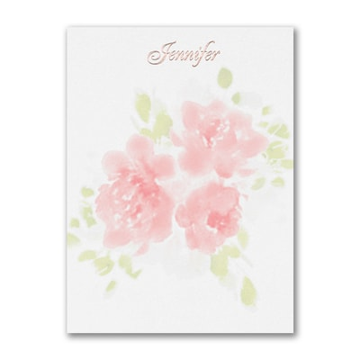 Flower Pattern - Note Card