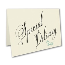 Special Delivery - Note Folder - Ecru