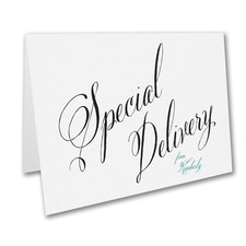 Special Delivery - Note Folder - White