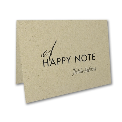 Write Happy - Note Folder - Kraft