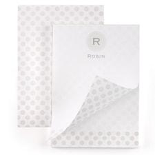 Monogram Dot - Notepad - 50 Sheets