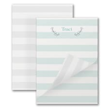 Whimsy Stripe - Notepad - 50 Sheets