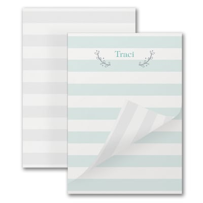 Whimsy Stripe - Notepad - 100 Sheets