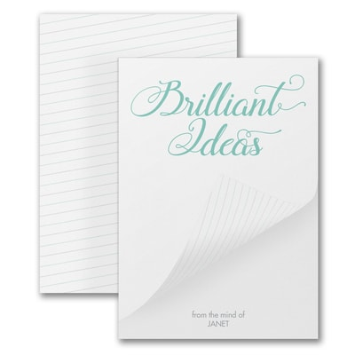 Brilliant Ideas - Notepad - 100 Sheets