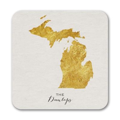 Bright State - Coasters - Michigan