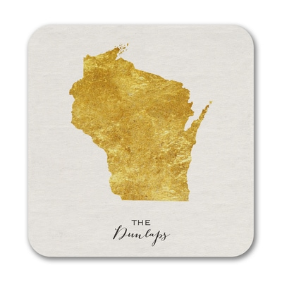 Bright State - Coasters - Wisconsin