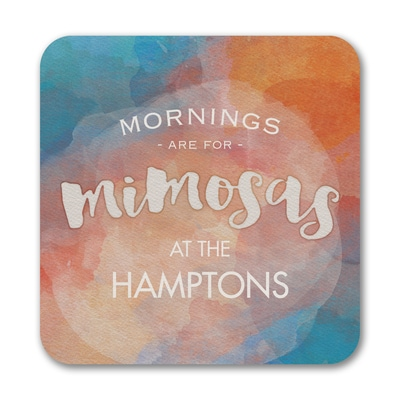 Mimosa Mornings - Coasters - Blue