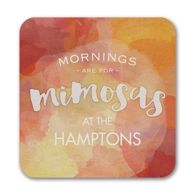 Mimosa Mornings - Coasters - Claret