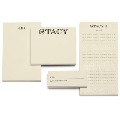 Memory - Notepad - Ecru