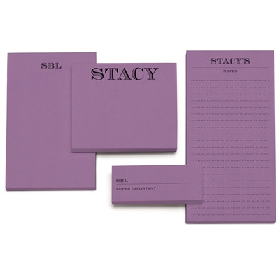 Memory - Notepad - Purple