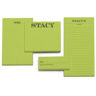 Memory - Notepad - Green