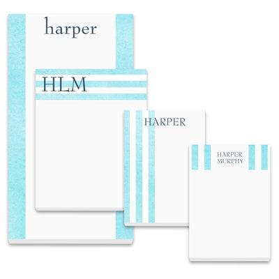 Brilliant Stripes - Note Pad Gift Set - 100 Sheet