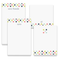 Colorful Diamonds - Note Pad Gift Set - 100 Sheet