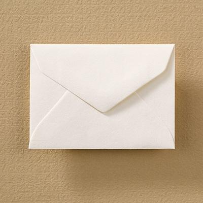 Calling Card Cotton Envelope - Ecru