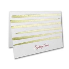 Stripe Shine - Note Folder