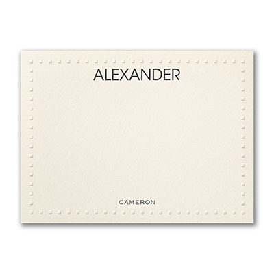Tailored Tiles - Note Card