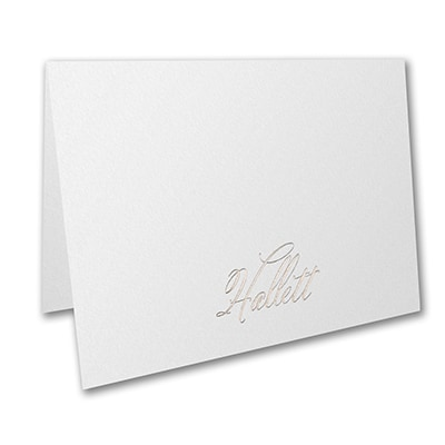 Simply Perfect Large Note Folder - White