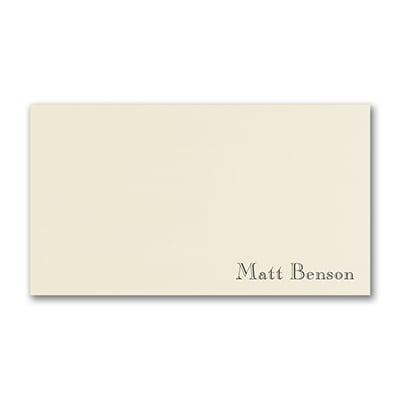 Stellar Style - Note Card - Ecru
