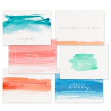 Watercolor Occasions Collection