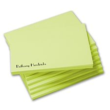 Post-it-Note Set - Neon Lime