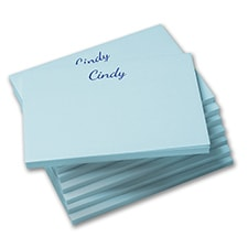Post-it-Note Set - Sky Blue