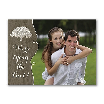 Shady Wood - Save the Date Card