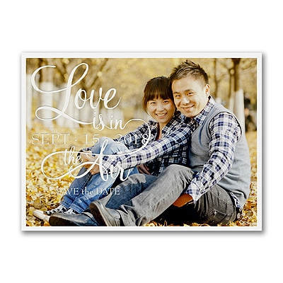 Shiny Love - Photo Save the Date Card