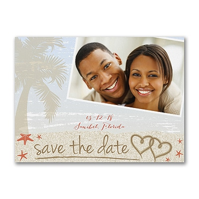 Love the Tropics - Photo Save the Date Card