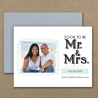 Soon to Be - Photo Save the Date Magnet