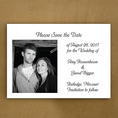 Picture Our Date - Save the Date Magnet