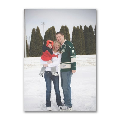 Photo Christmas Card - Vertical