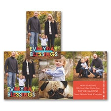 Everyday Blessings - Holiday Card