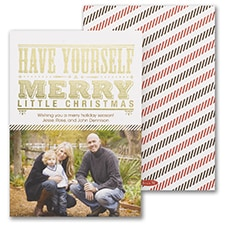 Merry Little Christmas - Holiday Card