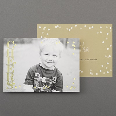 Cheerful Glimmer - Holiday Card