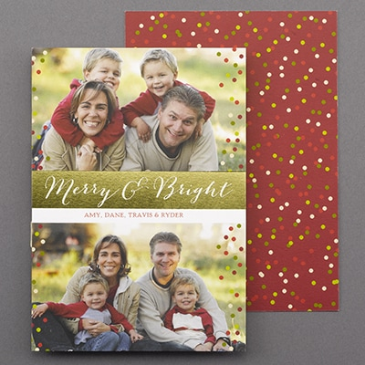 Bright Greeting - Holiday Card