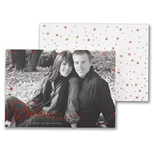 Just Believe - Photo Holiday Card