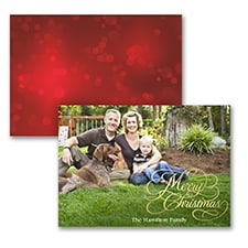 Spirited Christmas - Holiday Card