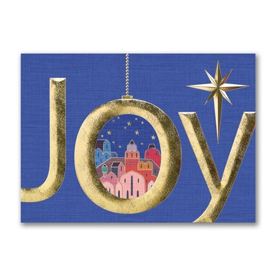City of Joy - Christmas Card