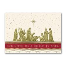 One Bright Star - Christmas Card