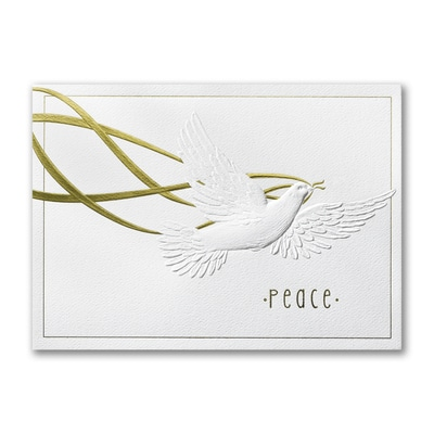 Peaceful Approach - Holiday Card
