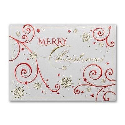 Decorated Christmas - Christmas Card