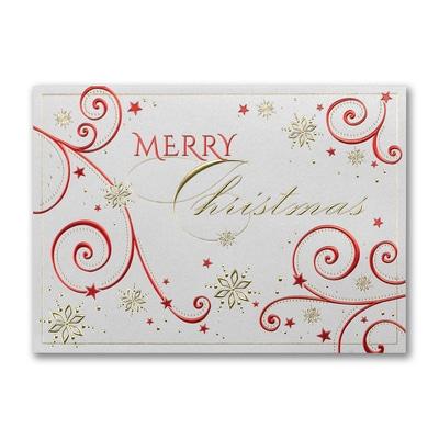 Decorated Christmas - Christmas Card