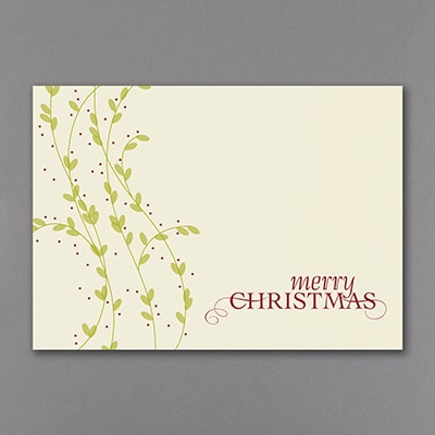 Merry Christmas - Holiday Card