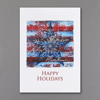 American Holiday - Holiday Card