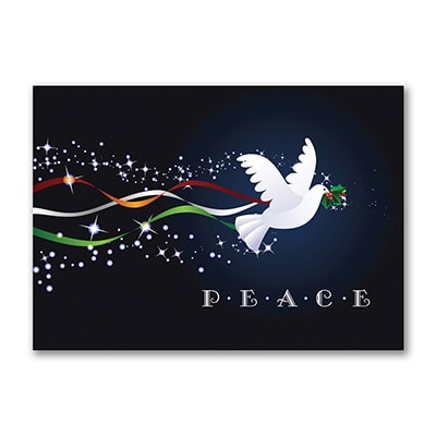 Peace Soars - Holiday Card